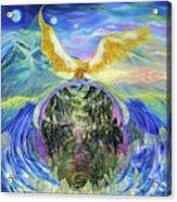 Power Of Great Spirit Acrylic Print