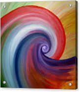 Power Spin Acrylic Print
