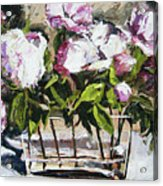 Power To The Peonies Acrylic Print