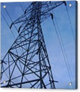 Power Tower Acrylic Print