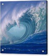 Powerful Surf Acrylic Print
