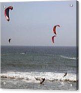pr 122 - Five Windsurfers Acrylic Print