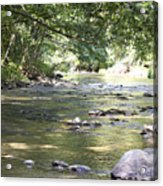 pr 164 - Mountain River Acrylic Print