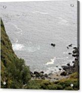 pr 166 - Cliffs Of Big Sur Acrylic Print