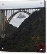pr 170 - Bixby Bridge II Acrylic Print