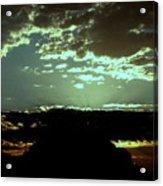 pr 171 - Green Sunset II Acrylic Print