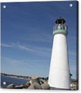 pr 191 The Harbor Lighthouse Acrylic Print