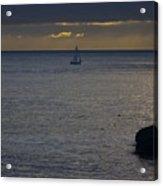 pr 237 - Evening Sail Acrylic Print