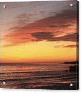 pr 239 - Sunset at Santa Cruz Acrylic Print
