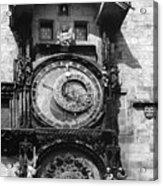 Prague Astronomical Clock 1410 Acrylic Print