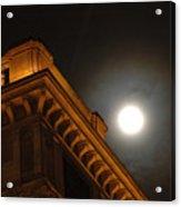 Prague At Night Acrylic Print
