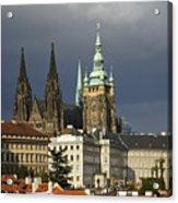 Prague Castle Complex Acrylic Print