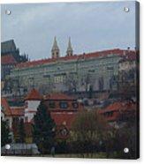 Prague Castle In Prague Czech Republic Acrylic Print