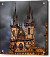Prague Cathedral Acrylic Print