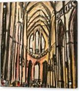 Prague Catherderal Acrylic Print