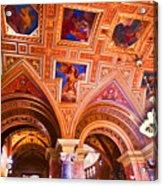 Prague Church Ceiling Acrylic Print