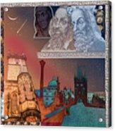 Prague Daydream Acrylic Print by John Scariano
