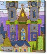 Prague Panorama Acrylic Print by Yuriy  Shevchuk