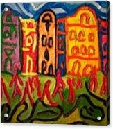 Prague Squared Acrylic Print