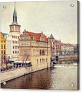 Prague View Acrylic Print