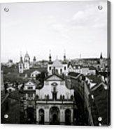 Mysterious Prague Acrylic Print
