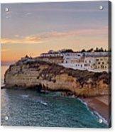 Praia Do Carvoeiro Sunset Acrylic Print