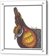 Prairie Chicken #51  Acrylic Print