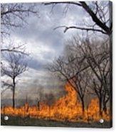 Prairie Fire Acrylic Print