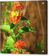Prairie Flowers Acrylic Print