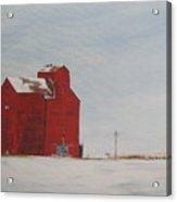 Prairie Giants I  Acrylic Print