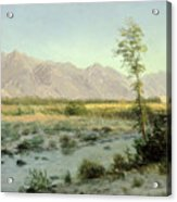 Prairie Landscape Acrylic Print