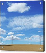 Prairie Landscape Alberta Canada Acrylic Print