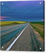 Prairie Storm Saskatchewan Acrylic Print