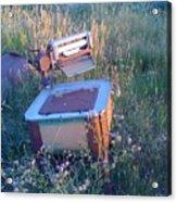 Prairie Washtub Acrylic Print