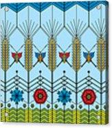 Prairie Wheat Acrylic Print