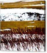 Prairie Winter Acrylic Print