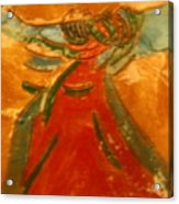 Praise God - Tile Acrylic Print