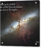 Praise Him From The Heavens Acrylic Print