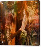 Praise Him With The Harp II Acrylic Print