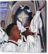 Praising God Acrylic Print