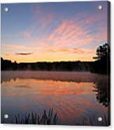 Prat Pond Morning Acrylic Print