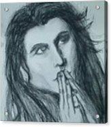 Pray For Peace Acrylic Print