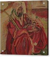 Prayer at Benghazi Acrylic Print