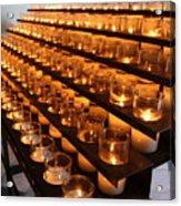 Prayer Candles Acrylic Print