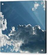 Prayer Cloud Acrylic Print