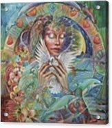 Prayer For Peace Acrylic Print