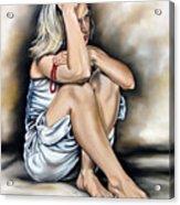 Prayer II Acrylic Print by Ilse Kleyn