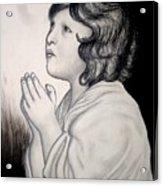 Prayer Is The Master-key Acrylic Print