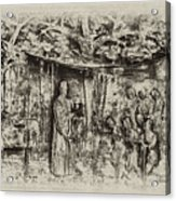 Prayer Meeting At Jamestown Acrylic Print