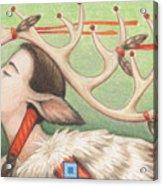 Prayer Of Elk Woman Acrylic Print